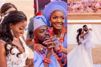 Simi & Adekunle Gold Celebrates Two Years Wedding Anniversary (Photos)